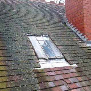 Roof Window Before